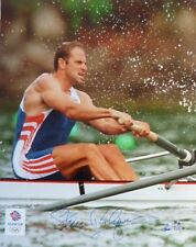 Steve Redgrave Signed 16x20in Team Gb Photo - Pure Determination - Ltd 23 of 200