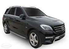 Mercedes ML W166 2012+ GLE 2015+ PEDANE SOTTOPORTA ALLUMINIO SPEDIZIONE GRATUITA