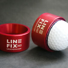 LINEFIX360 - GOLF BALL LINE LINER – 100% BRITISH – THE ORIGINAL, THE BEST