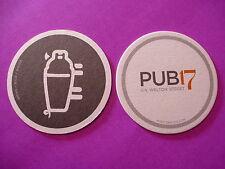 Beer Drink Coaster ~*~ Grand HYATT Denver,COLORADO ~ Pub 17 on Welton St ~ Brews