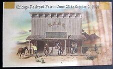 **1949 CHICAGO RAILROAD FAIR ~ BANK OF GOLD GULCH