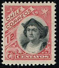 CHILE 1904 STAMP # 73 MNH NOT ISSUED COLUMBUS