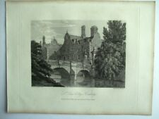 St John's College, Cambridge (published May 4th, 1808)