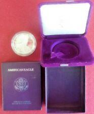 1991-S 1 oz Proof Silver American Eagle (w/Box and COA)