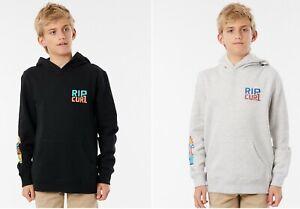 Rip curl Boys Youth Oceanz Hoodie Pullover Surf Sweatshirt Hooded Jumper SZ 2-16