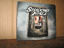 SHADOWS FALL DVD ONLY THE WAR WITHIN  DIGIPAK   NO CD