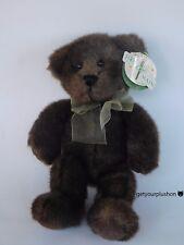 "FIRST & MAIN DARK GREEN ""SIMPLETON"" TEDDY BEAR PLUSH"