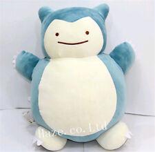 Pokemon Snorlax Ditto Transformation Double Side Plush Pillow Cushion Toy Decor