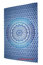 Ombre Hippie Tapestries Indian Mandala Twin Wall Hanging Beach Throw Tapestry At