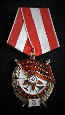 II WK UdSSR Russland Orden Rotbannerorden Russia Order - 3 -
