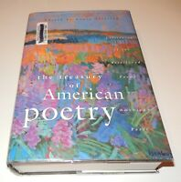 The Treasury of American Poetry edited by Nancy Sullivan 1978 HC DJ Ex Library