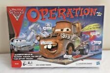 Operation Board Game PIXAR CARS Mater Needs you help *Complete* part sealed