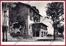 VERBANIA PREMENO 103 PIANCAVALLO - COLONIA CHARITAS - JEEP Cartolina viagg. 1954