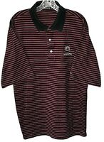 Carnoustie 2XL golf polo shirt South Carolina Gamecocks black red stripes