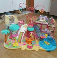 My Little Pony Summer Party Beach Play Set Sand With Shops Ponies Vintage Rare