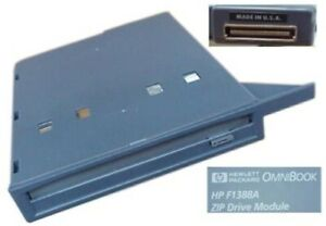 HP Omnibook 2100 3000 3000CTX 3100 100MB Iomega Zip Drive Module