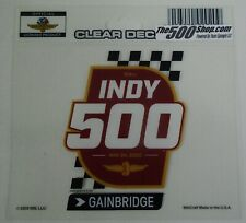 2020 Indianapolis 500 104TH Running Event Collector Decal