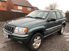9395f31fd7 New listing2002  52  JEEP GRAND CHEROKEE 2.7 CRD LIMITED AUTOMATIC DIESEL -  NO RESERVE -