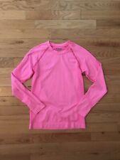 Spyder Long Sleeve Shirt Base Layer Pink Girls Small Medium