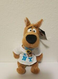 "Vintage Warner Bros 9"" SCOOBY DOO ""I SCOOBY N Y"" T-Shirt Plush Stuffed Animal"