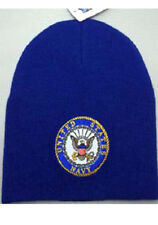 Navy Embroidered Beanie Skull Cap Hat United States Navy Beanie USA SHIPPER