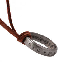 PS3 Uncharted 4 Nathan Drake's #10 Ring Cool Accessories Amazing Ring Necklace