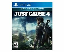 Brand New Sealed Just Cause 4 Day One Edition - PlayStation 4 PS4
