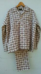 Vintage 60s Op Art Pyjamas Unworn