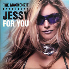 The Mackenzie Featuring Jessy ‎CD Single For You - Belgium (EX/EX+)