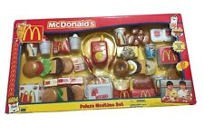McDonald's Deluxe Mealtime Set 50 pieces NEW In Package Rare Collectors 2001