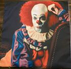 HALLOWEEN HORROR CLASSIC THROW PILLOW COVER PENNYWISE NEW APROX 17