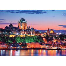 1000Piece Jigsaw Puzzle Sunset Ruddy Old Quebec PK1000-3158