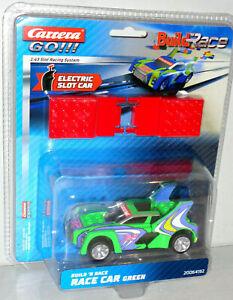 Carrera GO 20064192 Build n Race - Race Car green