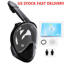 US Stock 180° Full Face  Swimming Snorkel Mask Surface Diving Scuba For GoPro