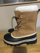 NEW SOREL CARIBOU WARM WATERPROOF WOMENS SNOW BOOTS Eu 39 UK 6 US 8 £160.00