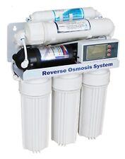 11 Stufen 400 gpd Umkehrosmose Anlage direct flow Wasserfilter Premium Mod.2018