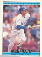 Robin Yount 1992 Donruss #173 Milwaukee Brewers baseball card