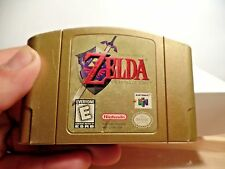 Legend of Zelda: Ocarina of Time Collector's Edition Nintendo 64 N64 Gold