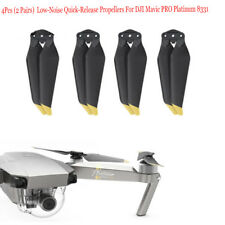 4X Propellers For DJI Mavic PRO Platinum 8331 Low-Noise Quick-Release Propellers