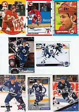 Huge 50 different DOUG GILMOUR cards lot 1989 - 2001 HOF Leafs Devils Hawks