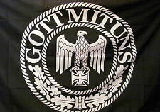 Fahne Flagge GOTT MIT UNS Koppelschloss Wehrmacht