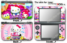 Hello Kitty Pink Cute Skin Vinyl Sticker Cover Decal #2 for NEW Nintendo 3DS XL