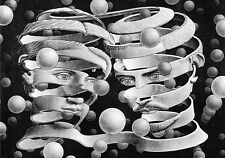 Escher # 04 cm 35x50 Poster Stampa Grafica Printing Digital Fine Art papiarte