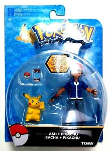 Pokemon Ash And Pikachu Duo Figure Pack 2015 NEW
