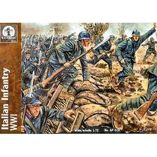 Waterloo 1815 AP019 Italian Infantry WWI 1/72 Plastic Model Kit