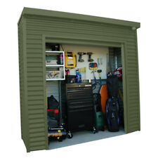 Smartlocker 800 2.4m x 0.8m Portal Frame Colour Roller Door Shed