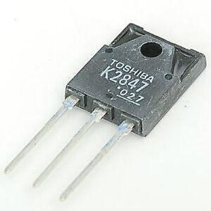 2SK2847 Toshiba Fet 900V 8A TO-3PF K2847 '' Image Pour Réf ''