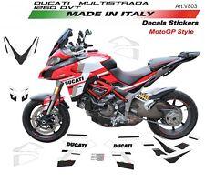 Kit adesivi per Ducati Multistrada DVT 1260 design MotoGP 18
