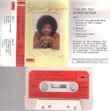 GLORIA GAYNOR I´ve got you RARE SPANISH CASSETTE PAPER LABEL 1976 SPAIN