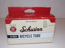 "NEW Schwinn 16"" Bicycle Tube SW75829-6 Traditional Schrader Valve Stem R Repair"